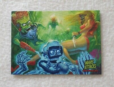 Topps Mars Attacks Invasion Masterpieces Trading Card 1 of 5
