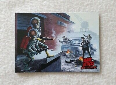 Topps Mars Attacks Invasion Early Missions Trading Card 1 of 6