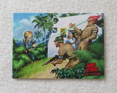 Topps Mars Attacks Invasion Early Missions Trading Card 2 of 6