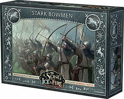 A Song of Ice and Fire Miniatures Game: Stark Bowmen Game of Thrones New Sealed
