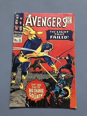 Marvel Comics -The Avengers # 35 Dec 1966
