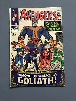 The Avengers #28 1966 1St Appearance Of The Collector!