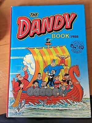 The Dandy Annual - Dc Thomson  Hardback 1988 - Very Good Condition