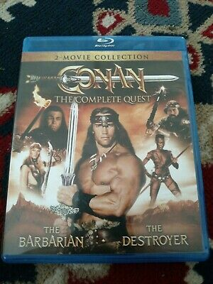 Conan: The Complete Quest (Blu-ray Disc, 2016, 2-Disc Set)