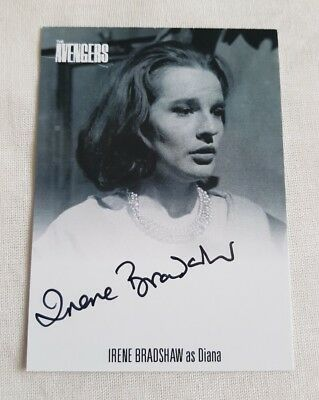 Unstoppable Cards The Avengers Complete Collection Irene Bradshaw Autograph Card
