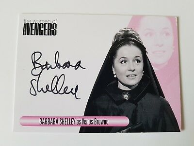 Unstoppable Cards The Women of the Avengers Barbara Shelley Autograph Card