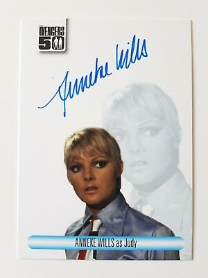 Unstoppable Cards The Avengers 50th Anniversary Anneke Wills Autograph Card