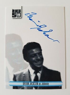 Unstoppable Cards The Avengers 50th Anniversary Brian Jackson Autograph Card