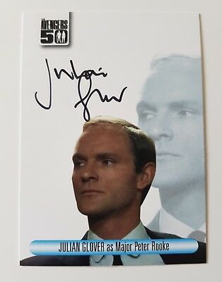 Unstoppable Cards The Avengers 50th Anniversary Julian Glover Autograph Card