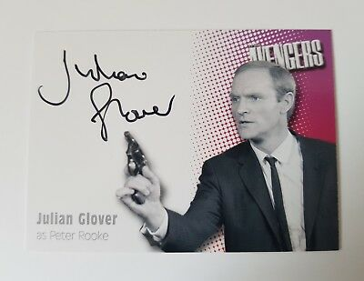 Strictly Ink The Avengers Series 2 Julian Glover Autograph Card