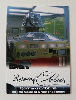 Unstoppable Cards Space 1999 Bernard Cribbins Autograph Card