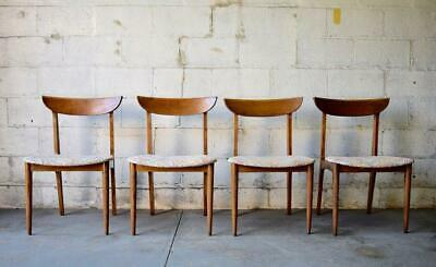 Mid Century Modern DINING CHAIRS, Set of 4