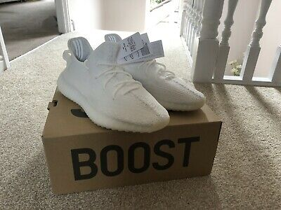 9efe48fd702 Adidas Yeezy Boost 350 V2 Triple White Men s Trainers Shoes