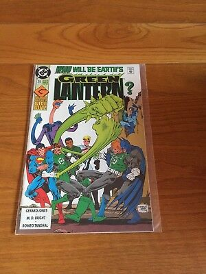 Green Lantern 25. Nm Cond.  June 1992. Dc. Near Mint. Double Size Issue      **2