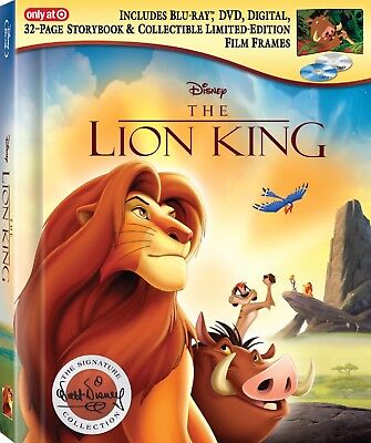 The Lion King Target Exclusive Digibook/The Signature Collection Blu Ray [New]