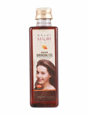 Khadi Mauri Maha Bhringraj Hair Oil 250ml KING OF OIL Anti Hairfall+Anti Dandruf