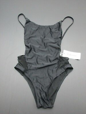 40f47ffe59a NWT HURLEY PRIME One Piece Bathing Suit Swim Bandeau Open Back Sides ...