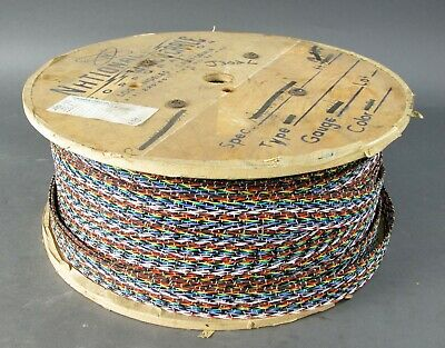 Spool of 26AWG 40 Con Braided Wire, 3056348-2024