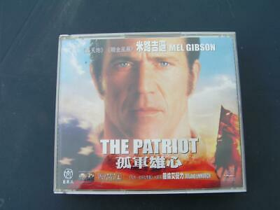 Vcd The Patriot - Mel Gibson - Hong Kong  - 3 Vcd - Video Cd