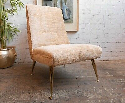 Very Rare Vintage Mid Century Modern G Plan 6031 Cocktail Bedroom Lounge Chair