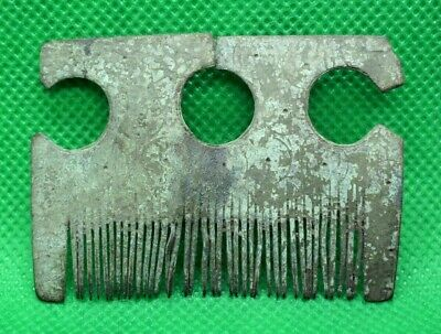 Roman Medieval Viking Bronze Comb - Extremely Rare - 700 Ad