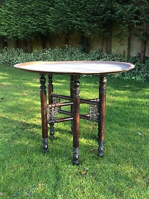 Eastern Brass Folding Occasional Table
