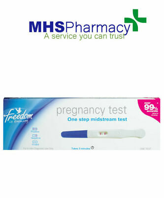 Freedom Pregnancy Test Midstream 1's (over 99% accurate) private listing