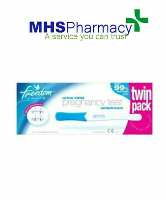 Freedom HCG Positive Pregnancy Test Twin Pack private listing