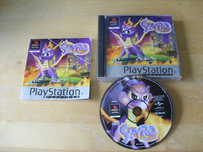 Spyro: The Dragon (Sony PlayStation 1, 1998) PS1 - Platinum - PICTURE DISC - REA