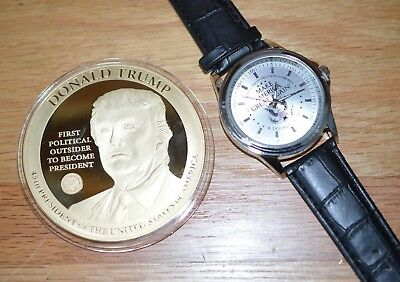 2017 Proof - First Political Outsider Elected President of the USA-Donald Trump