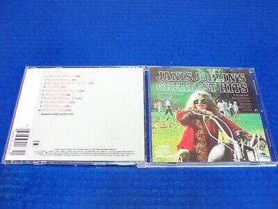 Janis Joplin - Greatest Hits (1973) - Rock CD Excellent Condition