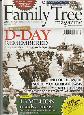 FAMILY TREE Magazine June 2009 - D-Day Remembered