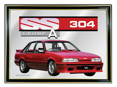 Metal Mirror Artwork A4 Suit Holden Vl Group A Enthusiasts Or Gift For Mancave