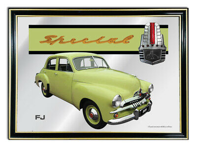Metal Mirror Artwork A4 Suit Lime Holden Fj Enthusiasts Or Gift For Mancave