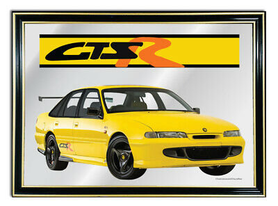 Metal Mirror Artwork A4 Suit Holden Vr Gtsr Commodore -- Enthusiasts