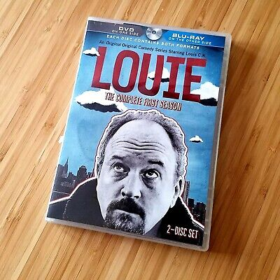 Louie The Complete First Season Bluray 2014 2 Disc Set