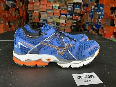 the latest 0a0d0 475e1 Mizuno Wave Enigma Running Shoes Blue Orange Size 10.5 100% Authentic