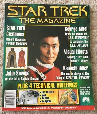 Star Trek Magazine Special 10th Anniversary Collector's Issues April 2003
