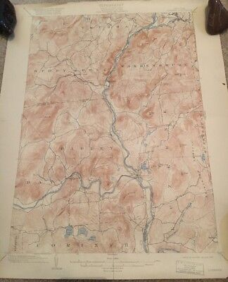 USGS Topographic Map 1903 Data LUZERNE QUADRANGLE NEW YORK