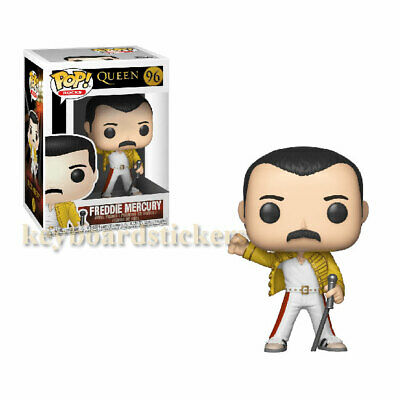 Funko POP! Music QUEEN - FREDDIE MERCURY WEMBLEY STADIUM 1986 #96 Vinyl Figure