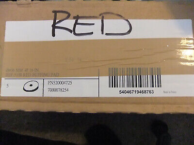 "16"" Red 5100 Buffer Pads Box of 5 pads"