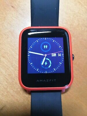 Amazfit Bip Smartwatch by Huami A1608 Orange - Used