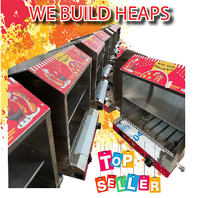 NEW Hot Dog Steamer Bun Warmer Sausage Cooker Commercial Dogs Machine hotdog