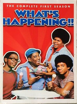 WHAT'S HAPPENING Complete First Season 1 3-DVD Set Ernest Thomas Haywood Nelson