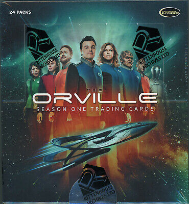 2019 The Orville Season One Factory Sealed Box + P1 Promo