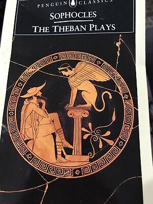 The Theban Plays by Sophocles (1950, Paperback) Book