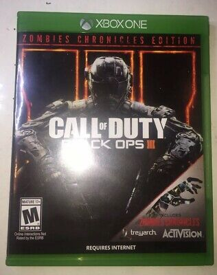 Call of Duty Black Ops III Zombie Chronicles (August 29,2017)- Xbox One - Mature