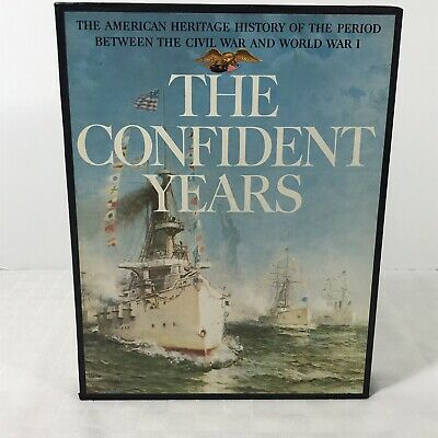 American Heritage History of The Confident Years Vintage