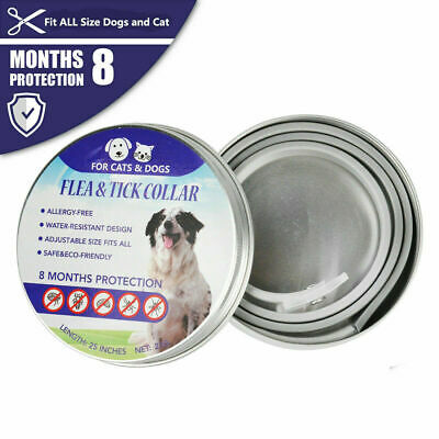 2 Pcs Seresto0 Flea & Tick Collar for Large Dogs Over 18lbs (8kg)