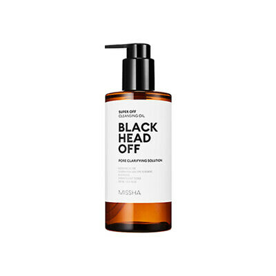 [MISSHA] Super Off Cleansing Oil Black Head Off - 305ml Korea Cosmetic